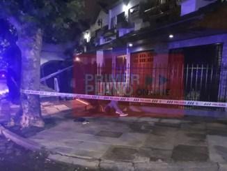 Muerte del delincuente en Villa Sarmiento