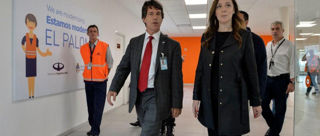 Vidal en aeropuerto de El Palomar