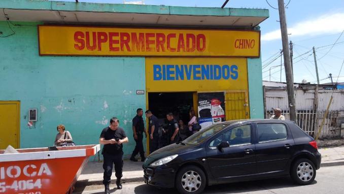 Cuatro detenidos tras intento de robo a supermercado de La Matanza