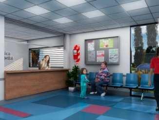 Unidad sanitaria en Moreno