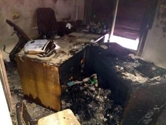 Incendio en Tribunal de Familia