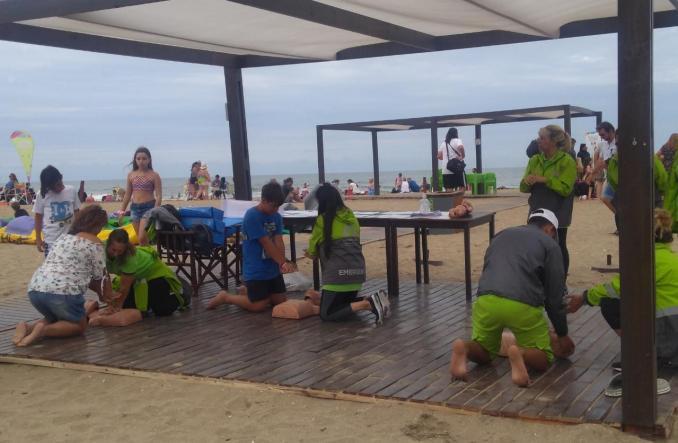 RCP en Playas Públicas