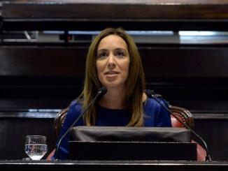 Vidal discurso ante la Legislatura