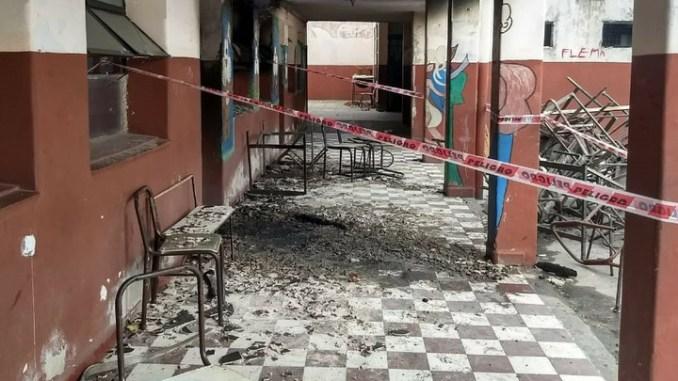 Vandalismo en escuelas