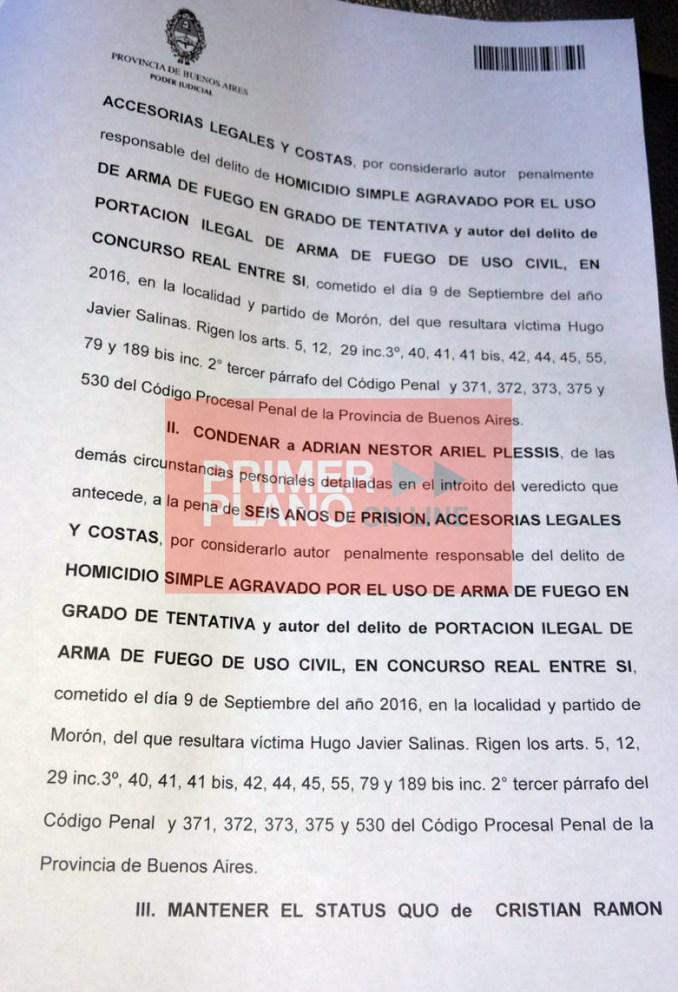 Condena Salinas 2