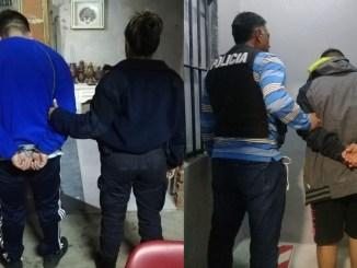 Paraguayos narcos detenidos en Merlo