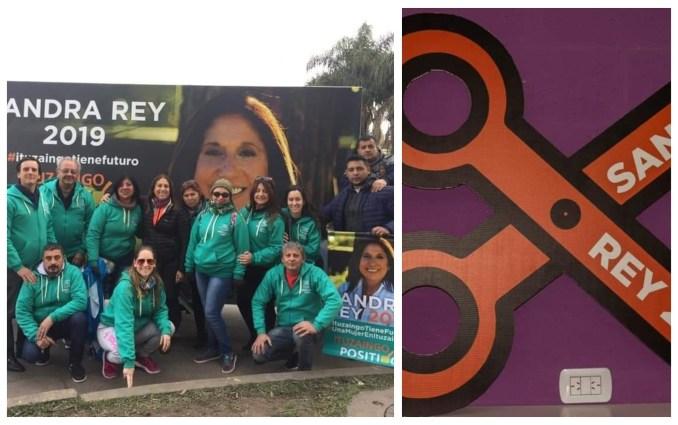El equipo de Sandra Rey continúa en campaña para instruir al electorado de Ituzaingó en el corte de boleta