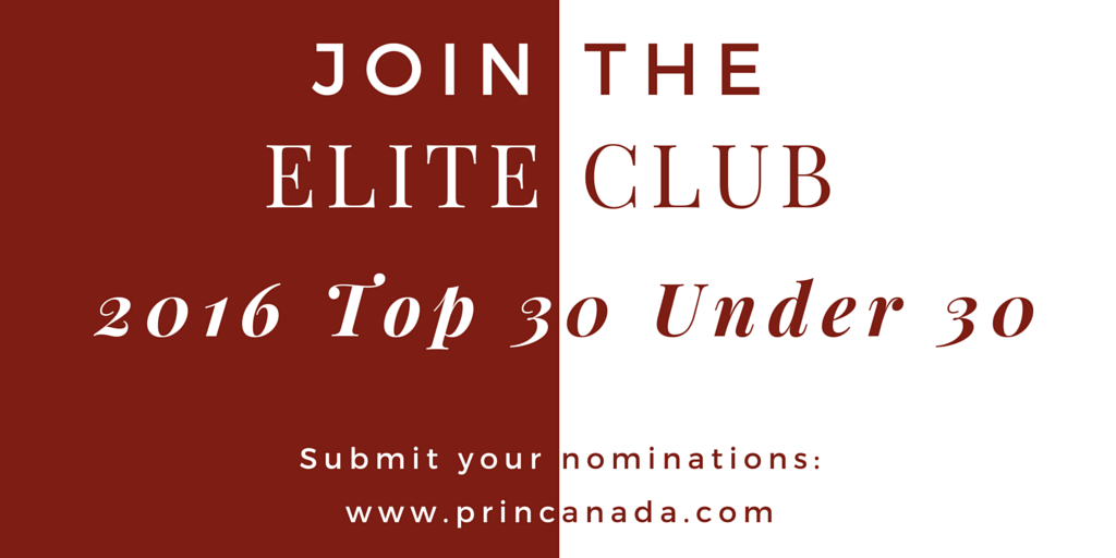 The nominations continue to pour in for PR In Canada's 3rd Annual Top 30 Under 30 across all the categories which for 2016 also includes: Internal Communications;