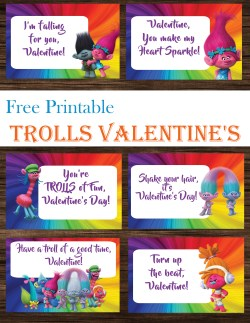 Irresistible Trolls Day Cards Free Printables Trolls Day Cards Free Printables Printables Mom Free Valentine Printables I Dig You Free Valentine Printables Pinterest