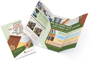 Brochure Printing   Custom Brochures Printed and Mailed printed brochure