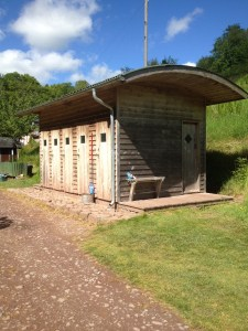 Campers Wash Cabin