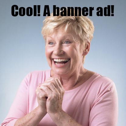 cool! a banner ad!