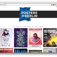 Posters of Berlin: Documentando as Ruas da Cidade
