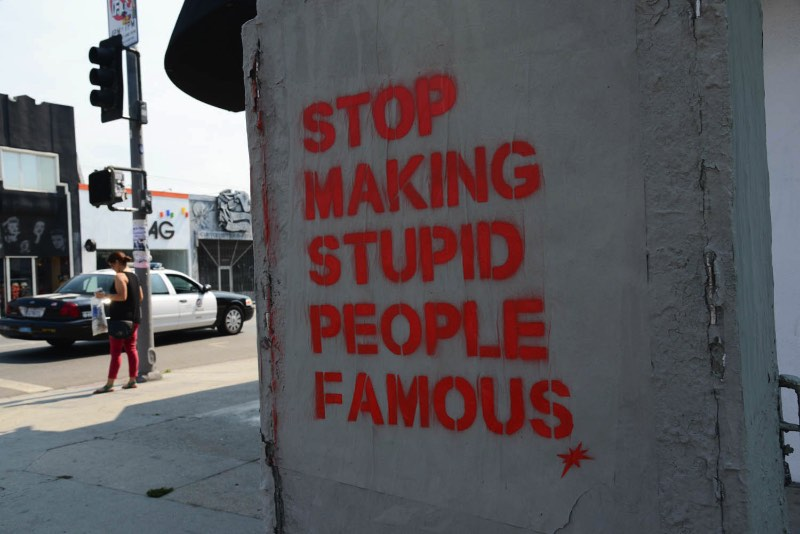 Stop making stupid people famous do Plastic Jesus 00