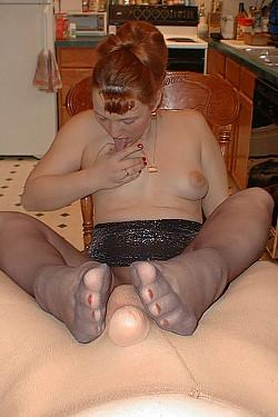 sexy white feet
