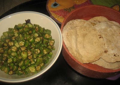 Bhindi/okra curry