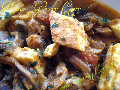 Paneer Gravy Curry