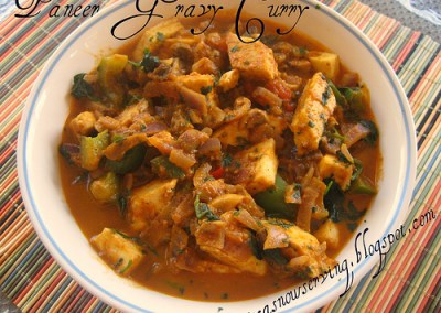 Stir-Fry Paneer Curry