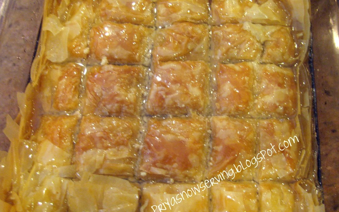 Baklava and 200th Post