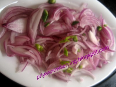 Onion For Pav bhaji