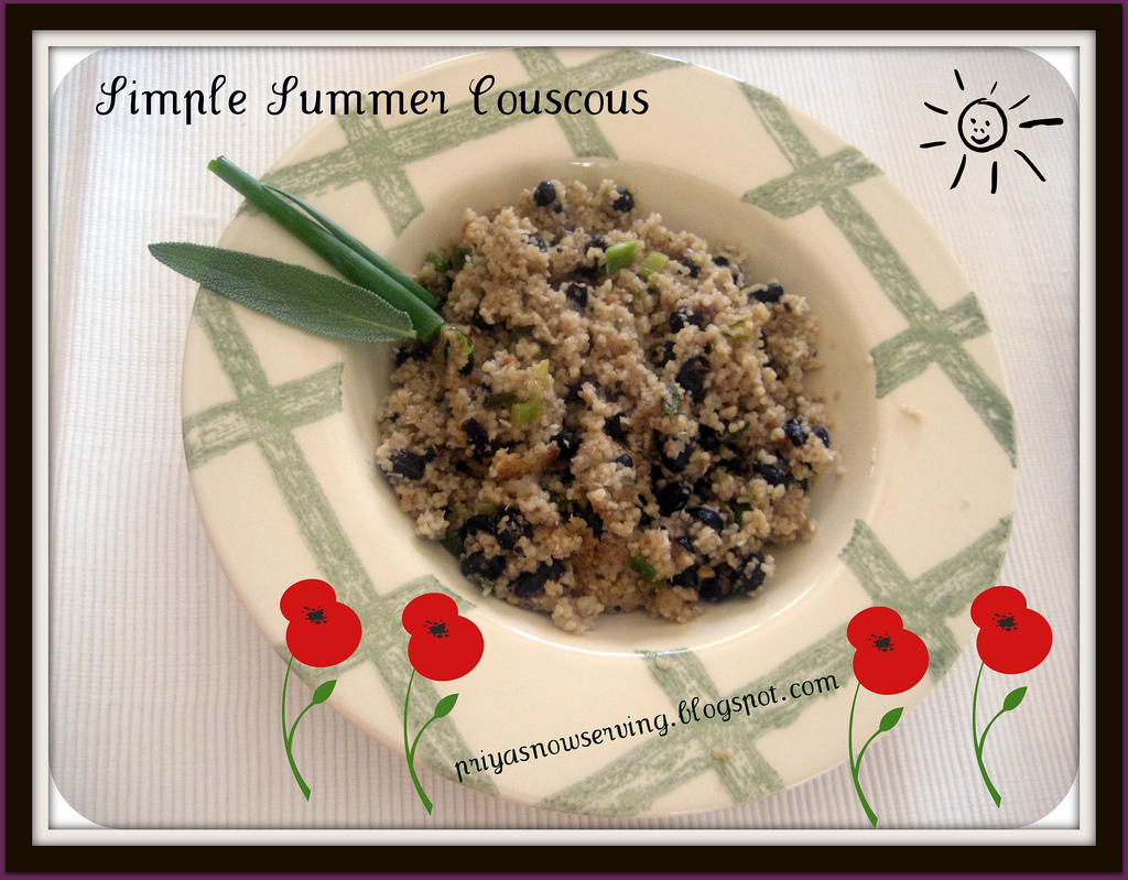 Simple Summer Couscous