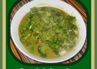 Broccoli–Cilantro Stew