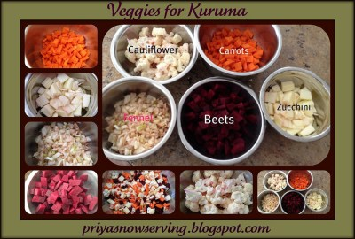 Veggies for Kuruma