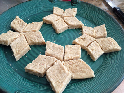 Kaaju Barfi – Cashew Fudge – Sweet Welcome to Kavin