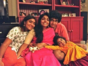 priya and family