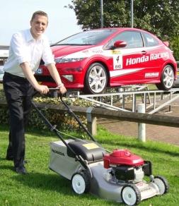 Lawnmower man Mark shows his talent for car sales -- Blackbird Communications | PRLog