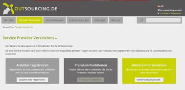 Erste deutsche Ausschreibungsplattform für IT-Outsourcing und Cloud-Services geht online