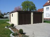 High-Tech für Fertiggaragen aus Stahl: Stabile Exklusiv-Garagen mit langer Nutzungsdauer