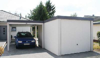 Herbstangebot von Garagenrampe.de bis 4. November 2012: Einzelgarage und Anbaucarport