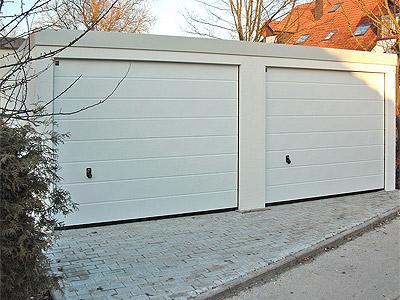 Eine Doppelgarage mit Exklusiv-Garagen bauen und die Auflagen beachten