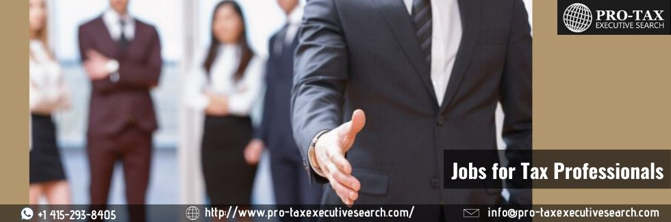 Jobs for Tax Professionals