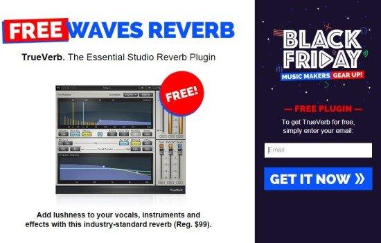 Get Waves TrueVerb Plug-In Free This Black Friday