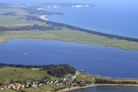 Insel Ruegen Rundflug 13 Moenchgut