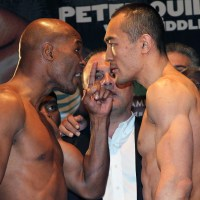 Hopkins vs. Shumenov, Porter vs. Malignaggi weigh-in results, photos & video