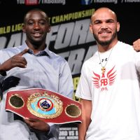 Crawford vs. Beltran presser photos & quotes; tickets on sale Friday