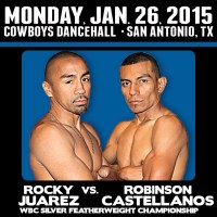 Rocky Juarez vs. Robinson Castellanos weigh-in results