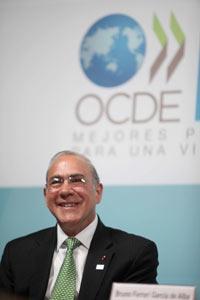 José Ángel Gurría, secretario de la OCDE. Foto: Eduardo Miranda