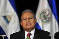 Salvador Sánchez Cerén, fundador del FMLN. Foto: AP