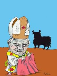 Benedicto en Espana