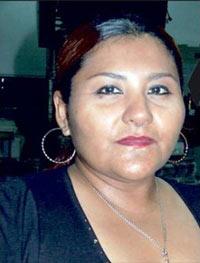 Yolanda Ordaz de la Cruz, reportera del diario Notiver.