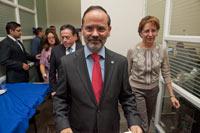 El presidente nacional del PAN, Gustavo Madero. Foto: Miguel Dimayuga