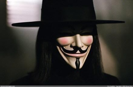 La máscara de Guy Fawkes, símbolo de Anonymous. Foto: Especial