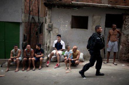 Brasil. Comienza ocupación policíaca de favelas en Río antes de Mundial 2014. Foto: AP