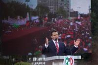 El virtual candidato del PRI a la Presidencia, Enrique Peña Nieto. Foto: Eduardo Miranda