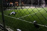 El asesinato en el estadio Jimmy Ruiz. Foto: Juan Carlos Cruz