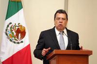 Ángel Aguirre, gobernador de Guerrero. Foto: Benjamin Flores